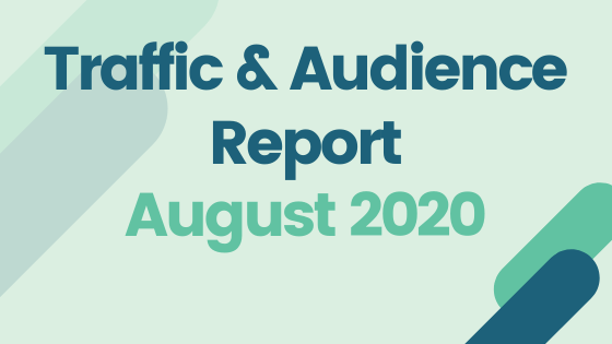 TRaffic and audience report august 2020