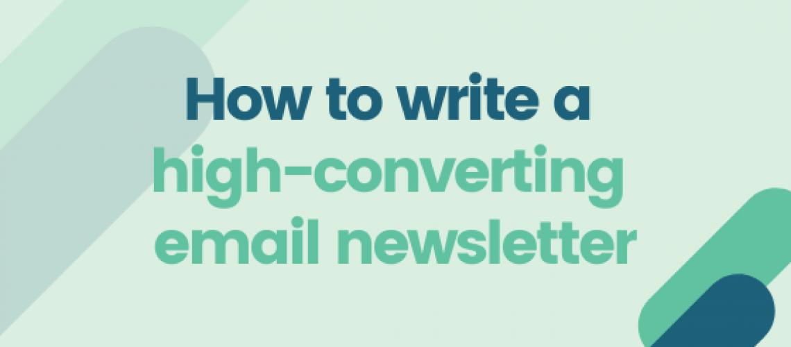 Blog - email newsletter