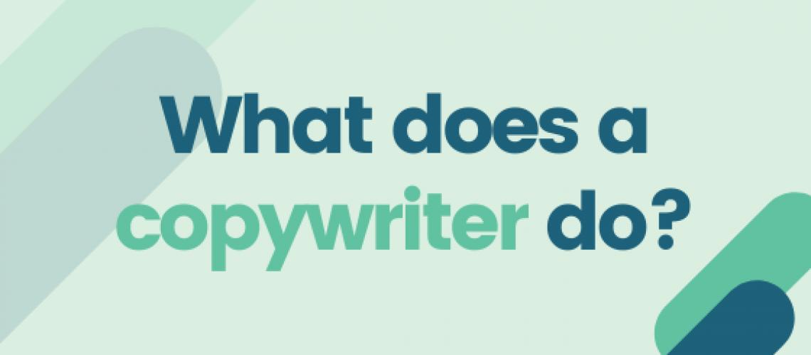 Blog - what does a copywriter do