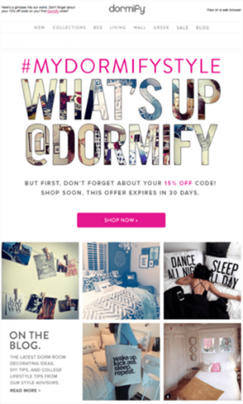 email marketing consultant example dormify